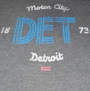 Levi's Motor City Detroit Michigan Shirt Levis